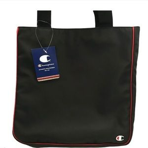 NWT Champion Expander Side Zip Tote Bag Bl…